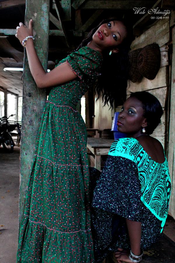 Ankara, Adire, Fashion, Cyril Bryan, Models