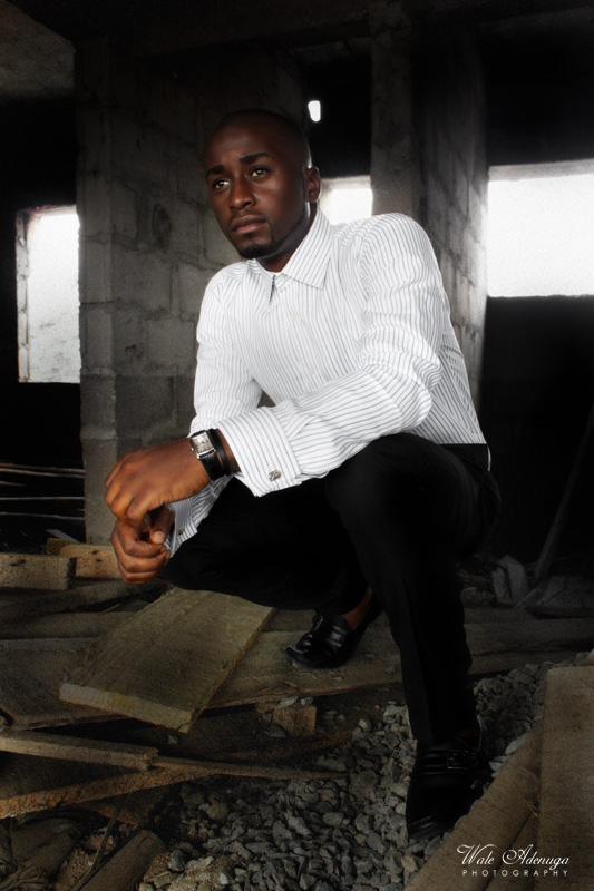 plank, striped shirt, @Darkeyz, @waleadenuga, uncompleted building, model, Wale Adenuga Photography.