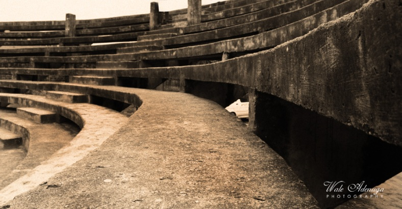 steps, coliseum, Wale Adenuga Photography, Unilag