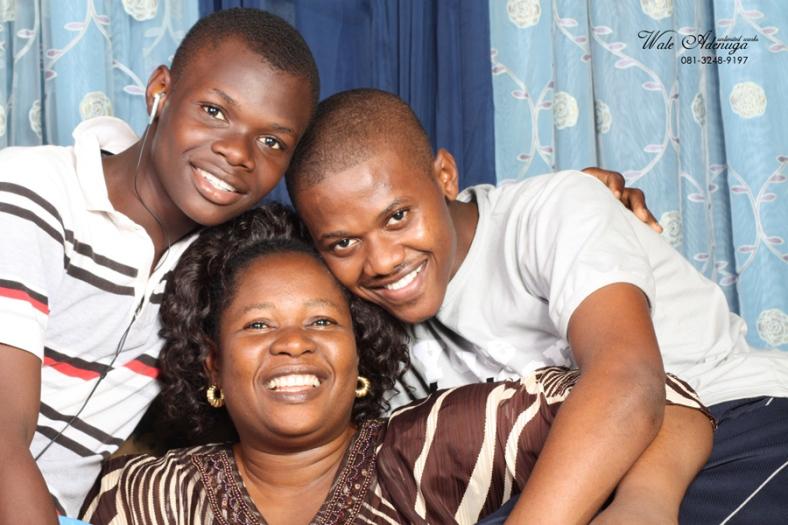 @waleadenuga @Ayenacool, Mrs Oshinmini, Wale Adenuga Studios.