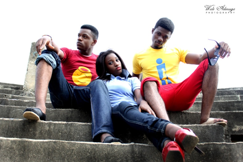 models, yellow, red, Instinct Wears, Wale Adenuga Photography, Unilag