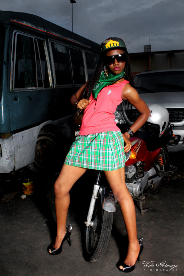model, motorcycle, bus, jeep, Black Republic, Wale Adenuga Studios, @waleadenuga, Lagos
