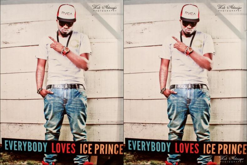 Ice Prince, ELI, EveryBody Loves iCePrince, @waleadenuga, @iceprincezamani, #Wale Adenuga studios