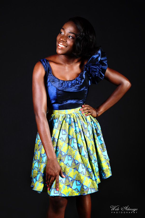 dress, studio, black, green, purple, Wale Adenuga Photography, Wale Adenuga Studios