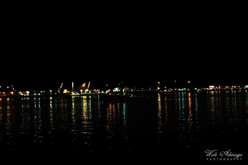 Reflection, Lagos, sea, Night, CMS pedestrian bridge, @waleadenuga, Wale Adenuga Photography