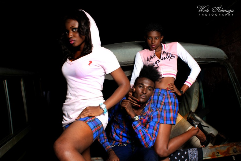 Black Republic Clothing, Lagos island, Mechanic shop, @FeMwiZZle, mini skirts, sweater,Wale Adenuga