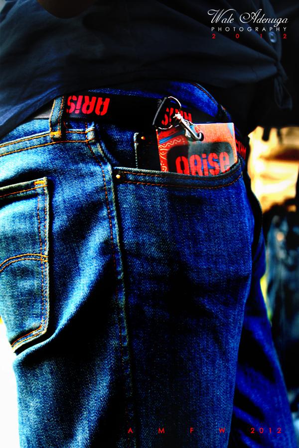jeans, pocket, ARiSE magazine Fashion Week, AMFW, Day1, Day2, Day3, Wale Adenuga Photography, 2012,