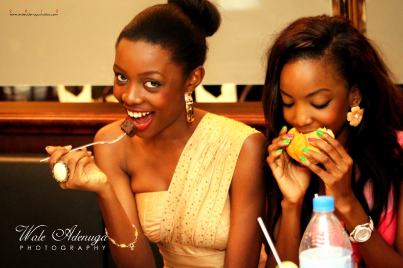 OMG!!!!!!!!!! av got a crush on this Girl, Tosin is just Hawt! Even while she's eatin.................#sexual okbye!