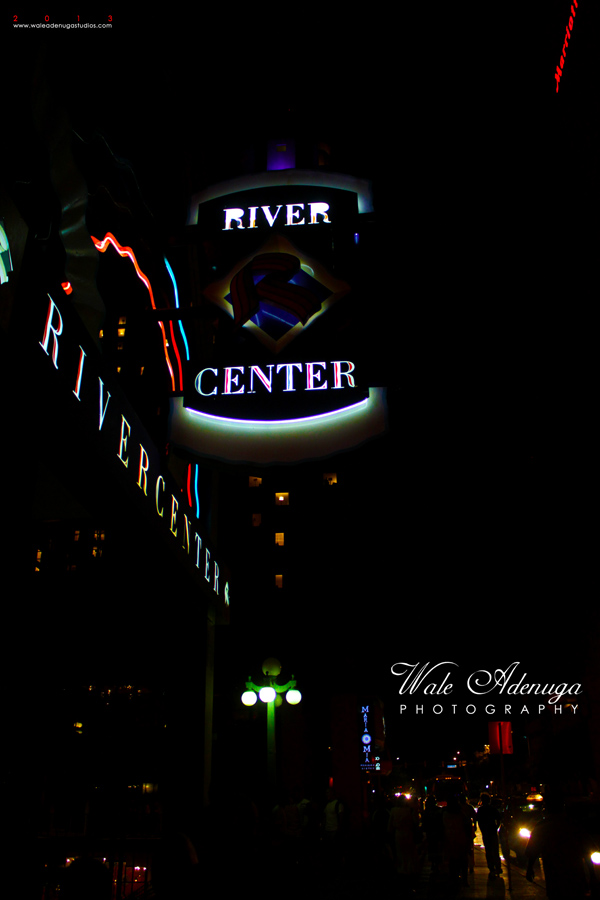 River Center at Night.....