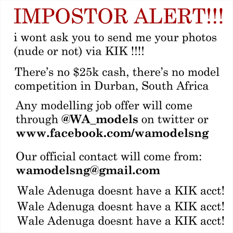 BB_WA_Impostor Alert